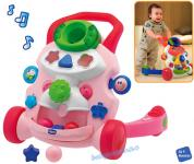 Chicco Lauflernhilfe & Activity Center 2 in 1 Mobil pink