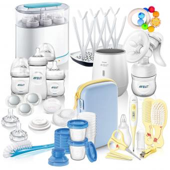Philips AVENT Naturnah Starter-Set MEGA-SET  IV All-in-One - mit viel Zubehör - Starter Set