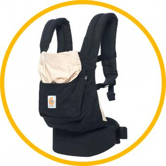 Ergobaby Original Babytrage Black & Came