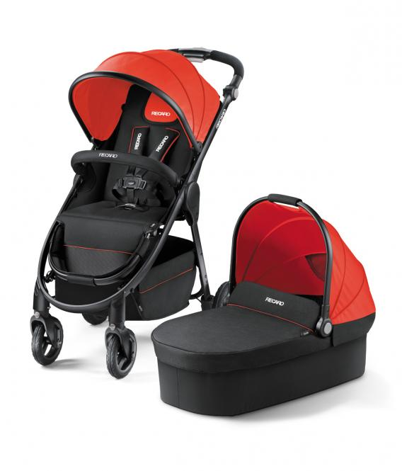 Recaro Citylife 2 in1 Stroller - From birth up to approx. 17.5 kg