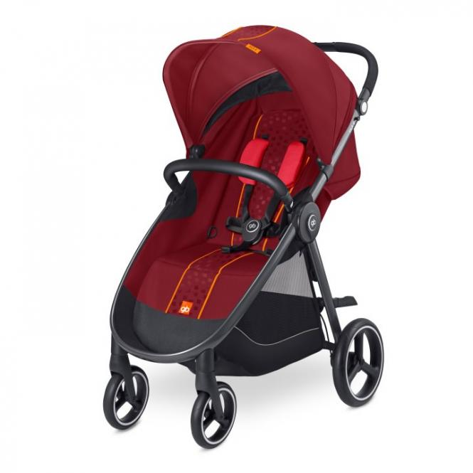 GB Good Baby 2017 Kinderwagen SILA 4 Dragonfire Red