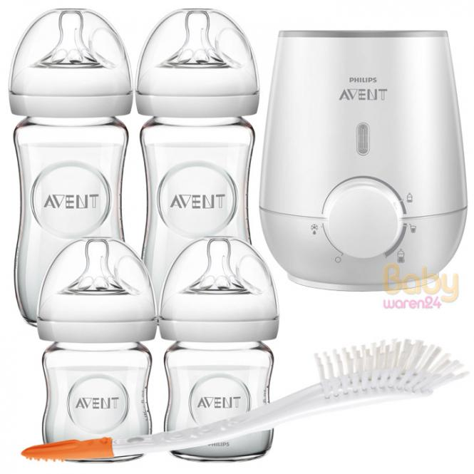 Philips AVENT Natural value pack with glass bottles