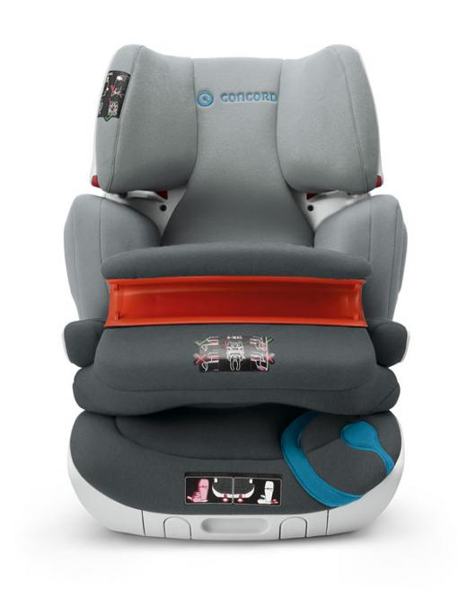 Concord 2015 Car Seat Isofix Transformer XT-PRO Gr. 1-2-3