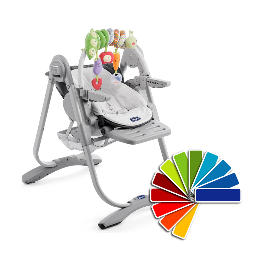 Chicco 2017 Polly Magic Highchair Incl. Toy Bar