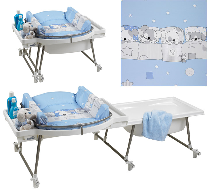 Awesome Geuther Aqualino Bath Changing Combo Incl. Baby Bathtub