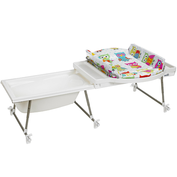 Geuther Aqualino Bath Changing Combo Incl. Baby Bathtub