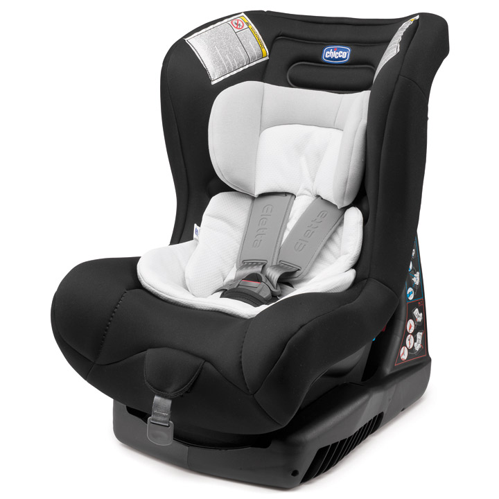 Chicco Eletta Comfort Car Seat Group 0 1 From Birth Till 18 Kg Black