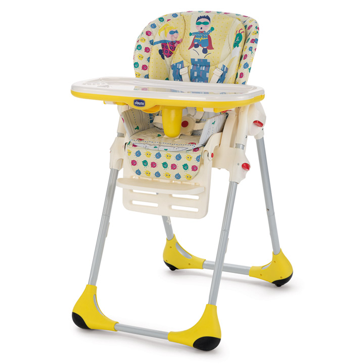 Chicco 2016 High Chair Polly 2 In1