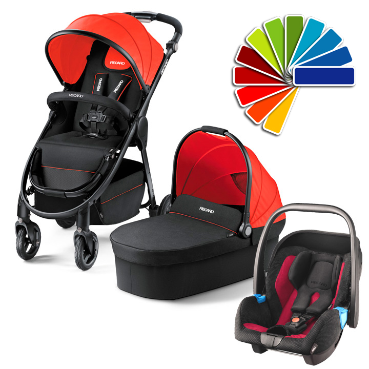 babywaren24 recaro 3 in 1 kinderwagen citylife purchase online. Black Bedroom Furniture Sets. Home Design Ideas