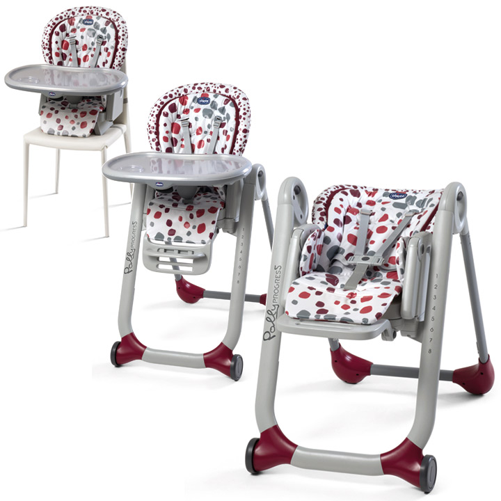 Enable ? Chicco. Product Images. Chicco Polly Progres5 Highchair Iceberg